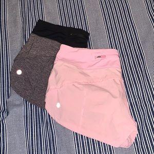 Lululemon Shorts Lot Bundle